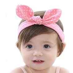 10PCS Baby Girl toddlers hairband Hair Bows Clips with elastic headbands Hot PL