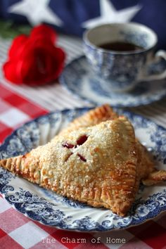 The Easiest Cherry Hand Pies - The Charm of Home