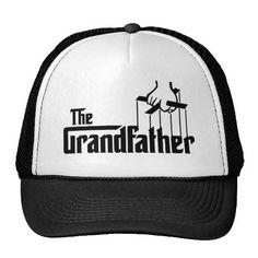 The Grandfather Hat http://www.zazzle.com/the_grandfather_hat-148995868993859678?rf=238675983783752015