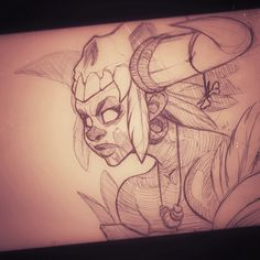 Hey gang, Here's a sketch I did a while ago of the Witch Doctor from Diablo III. What a fun game. Media - Ballpoint pen Hope ya dig! M! Online Store: zatransis.bigcartel.com Instagram:&n...