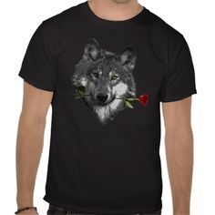 #Wolf Rose Shirts from #JKcoder