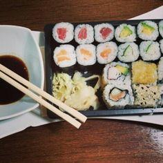 #lunch#Sushi#foodporn#loveit