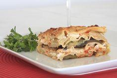 Lasagna de berenjena y queso