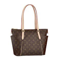 #LouisVuitton #Handbags Louis Vuitton Totally PM Brown Shoulder Bags