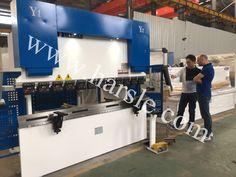 Germany customer visit our factory  Nanjing Harsle Machine Tool Co.,Ltd Tel:0086-17327993579 E-mail: jenny@harsle.com Web:www.harsle.com Press Brake Machine, Nanjing, Machine Tools, Desk, Home Decor, Desktop, Decoration Home, Room Decor, Writing Desk