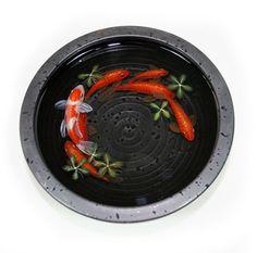 Goldfish Pintura 3D Riusuke Fukahori