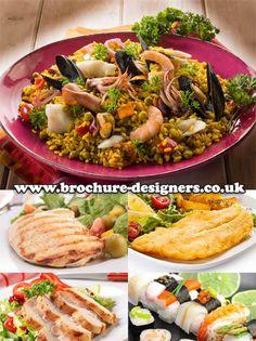 seafood images suitable for seafood restaurant leaflets www.brochure-designers.co.uk #seafood #seafoodleaflets #restaurantleaflets