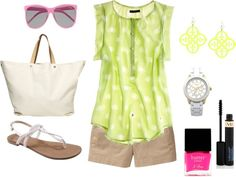 """""""Bold & Bright Neon"""" by taytay-268 on Polyvore"""