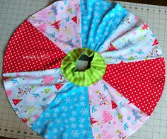 Sew a Paneled Circle Skirt – for your girl and her doll, too!