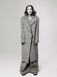 Carey Mulligan na versão britânica da Elle.
