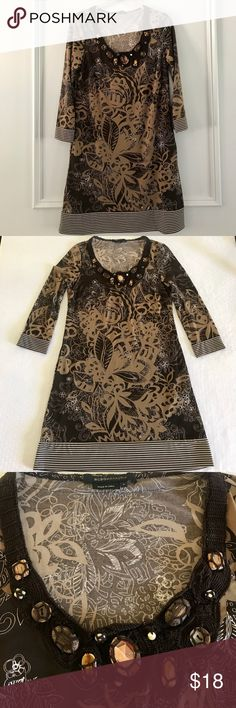 BCBG Dress Super fun BCBG mini dress! Stretchy, lightweight, and comfortable everyday dress. This piece is in excellent condition. BCBGMaxAzria Dresses Mini