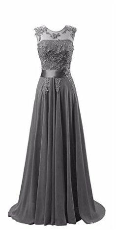 KMFORMALS Women's Long Lace Prom Evening Dresses Size 2 Dark Gray Kmformals http://www.amazon.com/dp/B01AUI50L0/ref=cm_sw_r_pi_dp_Ek5Wwb1KHRH5N