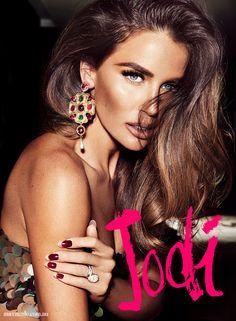 Max Made December 2014.. Jodi Gordon.. Earrings: Oscar de la Renta from Cosmopolitan Shoes..
