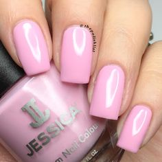 Jessica Nails Custom Colour in Pink Daisy from the Polished in Pastels Summer 2016 Collection