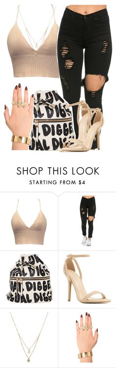 """loving you"" by queen-tiller ❤ liked on Polyvore featuring Forever 21, Melody Ehsani, women's clothing, women's fashion, women, female, woman, misses and juniors"