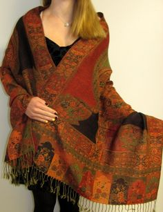 Delightful deligner shawl on sale so many rare finds and great pricing, great service, phone orders available if desired at 860-355-4184 and prompt delivery from CT USA. http://www.yourselegantly.com/pashmina-shawls/designer-shawls.html