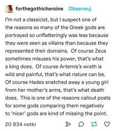 Greek Mythology Humor, Greek And Roman Mythology, Greek Gods, Percy Jackson, Writing Prompts, Writing Tips, Fandoms, Rick Riordan, Oncle Rick