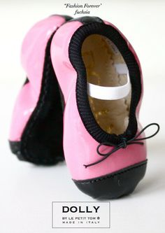 DOLLY by Le Petit Tom ® BABY BALLERINA'S 15CB 'Fashion Forever'
