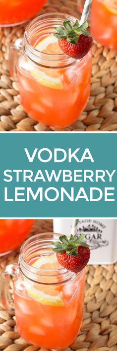 Vodka Strawberry Lemonade – Cake 'n Knife