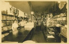 City of Norwalk, California - City Hall  The Glazier General Store on Front Street carried everything from cloth to coffee. (Photo from the early 1900's)