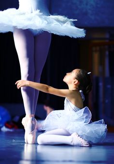 You'll never know how many little ballerinas may be looking up to you :) be a good role model!