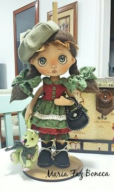 Mini doll por Maria Faz Boneca