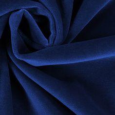Baumwollsamt 8 - Baumwolle - Modal - königsblau Fashion, Oktoberfest, Fabrics, Cotton, Moda, Fasion, Trendy Fashion, La Mode