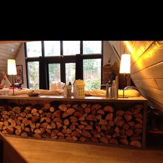 Indoor Firewood Storage   In This Post You Will Find Best Ideas For  Decorative Storage Solutions For Your Firewood
