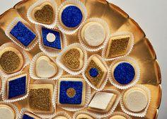 Gilded & Glittered Mini Sugar Cookies 3 by Sweetapolita, via Flickr