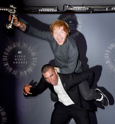 "Ed Sheeran was so excited that he jumped on ""Sing"" video director Emil Nava's back."