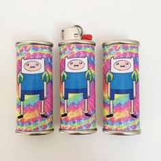 Psychedelic Finn the Human Adventure Time by FoxgloveCollective