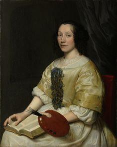 Wallerant Vaillant - Maria van Oosterwijck 1671