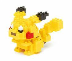Nanoblock pokemon pikachu NBPM-001 2013 Limited Edition: Amazon.co.uk: Toys & Games