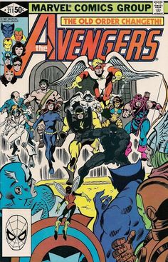 The Avengers #211 - ,,,By Force Of Mind!