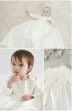 ebea51520e60 Beautiful long sleeved Christening gown - perfect for the winter months  Lace Christening Gowns