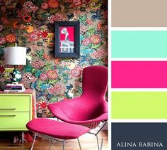 15 Combinaciones ideales de colores para interiores