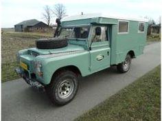 Land rover 109 Serie III dormobile convert. Very rare.