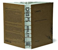 Camps by Charlie Hailey - exposed binding