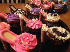 Cupcakes, high heel cupcakes