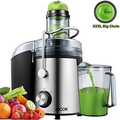 Centrifugal Power Juicer Extractor