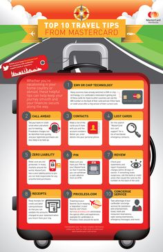 Safeguard your (Master)card during your travel.