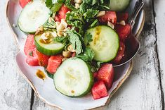 How To Make A Delicious and Easy Watermelon Salad
