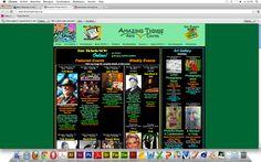 Lelijke website 5  Vormgeving - Veel te druk met veel te veel verschillende kleuren en letters. Navigatie - Dankzij de onoverzichtelijke letters is het lastig om op zo'n drukke website goed te navigeren. Informatie - Te veel informatie en foto's, wat het onoverzichtelijk maakt.