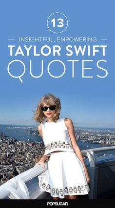 Celebrate the 1989 release with Taylor Swift's best quotes!