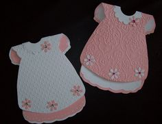 Papercats Crafts: Baby Dress Cards