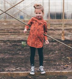 Hoe tof is deze jurk! Een echte musthave voor de herfst! #sproet #sprout #kameleon #901 #bruin #herfst #fashion #jurk Wild Child, Kids Fashion, Hipster, Children, Nature, Outfits, Style, De Stijl, Unitards