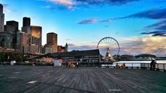 Seattle Waterfront at Sunset {Katie at the Kitchen Door}