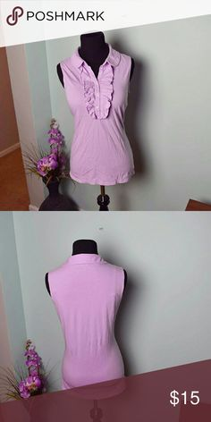 Lilly Pulitzer Light Lilac Blouse In great condition. Super cute and extremely soft. Lilly Pulitzer Tops Blouses
