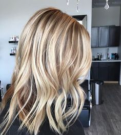 Beige and honey. Color by @hairbydayanas #hair #hairenvy #hairstyles…