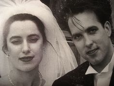 Mary Poole & Robert Smith, wedding day